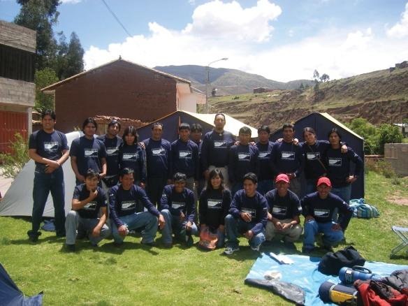 The Apus Peru Team!