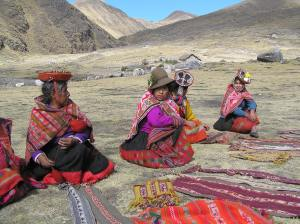 A highlight of Lares treks are the chance to experience Andean culture