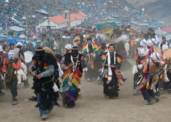 The Ukukus dancers of Qollor Riti. Photographer: D. Mansell-Moulin