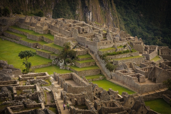 The Central ruins at Machu Picchu. Photo by Isaiah Brookshire.