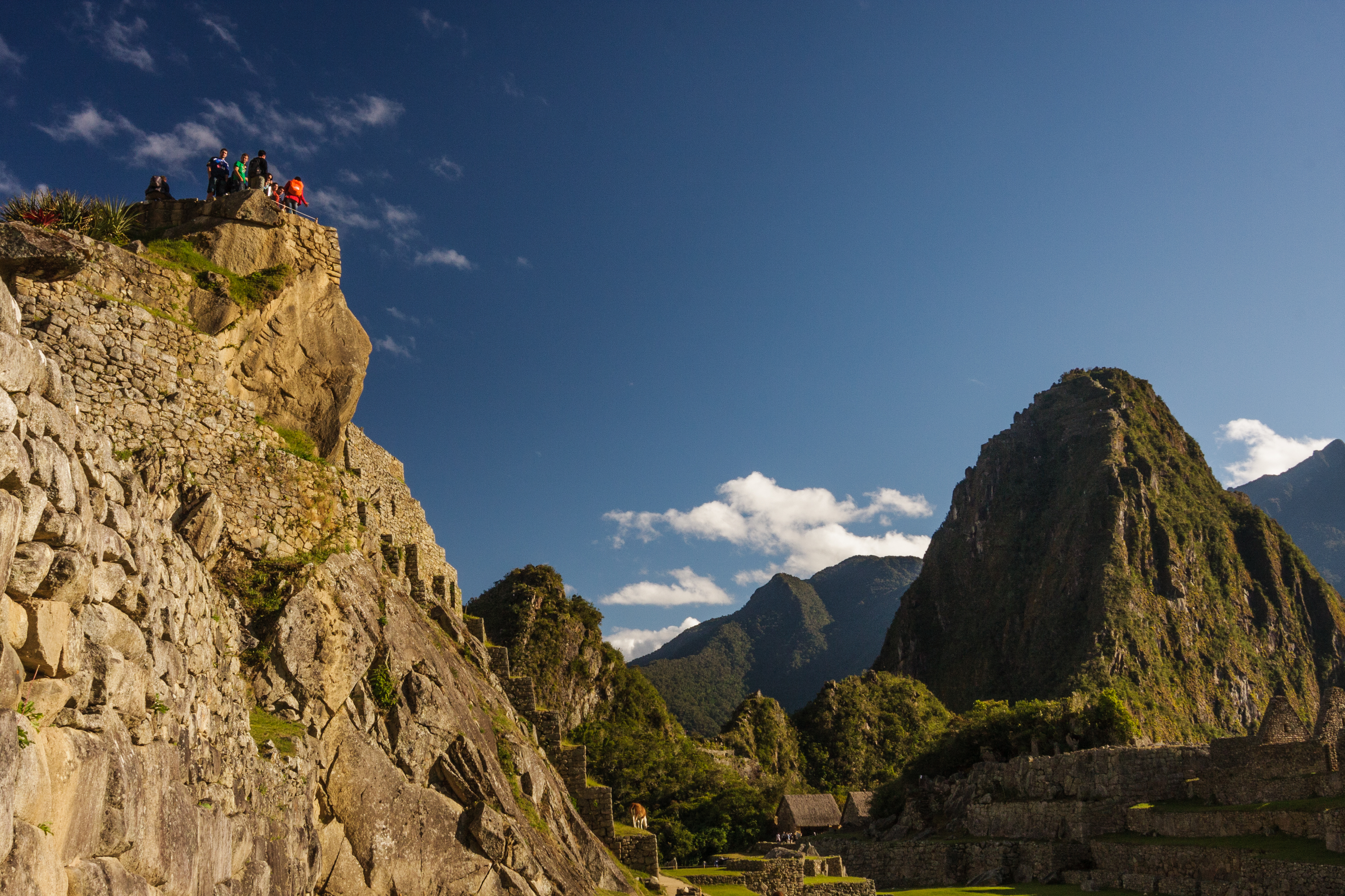 Overlooking Machu Picchu, another fantastic perspective from Isaiah Brookshire.