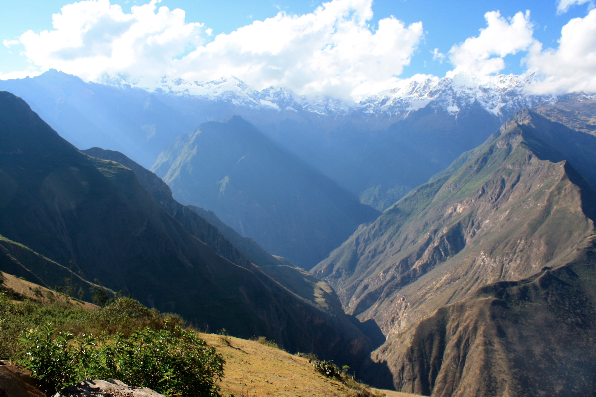 Stunning views greet you at every turn on the challenging but beautiful Choquequirao trek. Photo courtesy Diane Patterson.