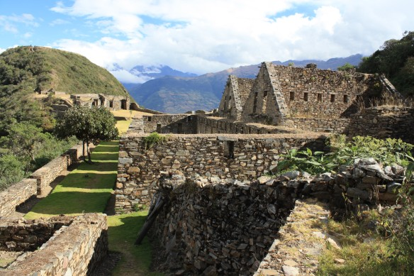 Visit the little known ruins at Choquequirao while also participating in a Clean Up Trek! Photo Courtesy Diane Patterson.