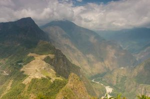 The spectacular view from Huayna Picchu is well worth the climb. Photo by Isaiah Brookshire.