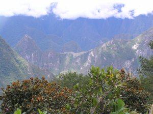 View of Machu Picchu from Llactapata.
