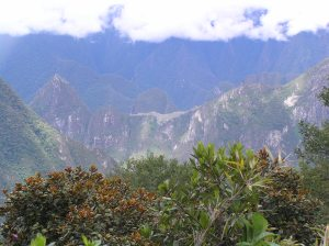 View of Machu Picchu from Llactapata.