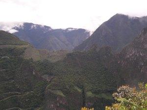 View of Machu Picchu from Putucusi.