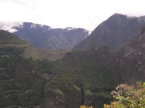 View of Machu Picchu from Putucusi.
