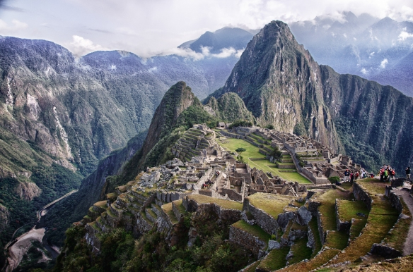 The Classic Shot of Machu Picchu. Photo by Michael Mossop.