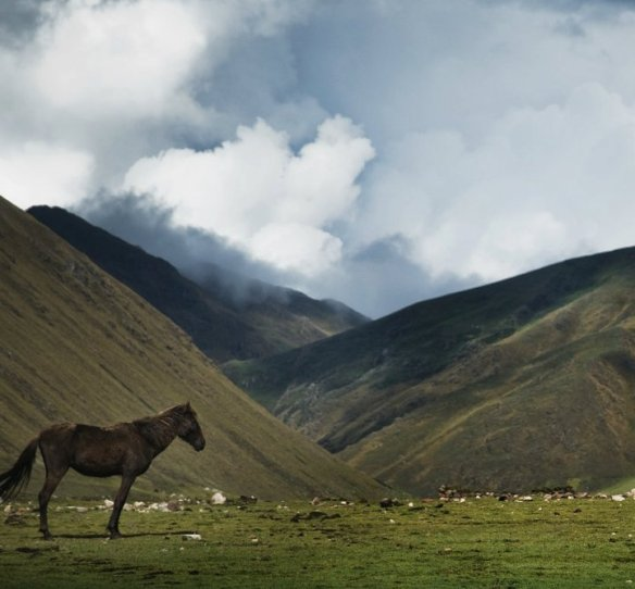 Stunning scenes greet you at every turn in the Andes. Photo courtesy Michael Marquand.