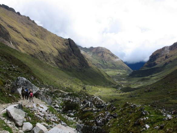 While one of the more popular treks around Cusco, the Salkantay trek abounds with great views. Photo courtesy Vaughn Tapella.