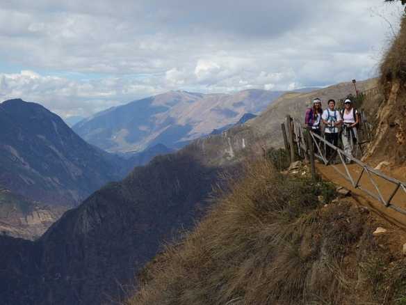 The Choquequirao trek features wonderful views of the Apurimac Canyon. Photo courtesy Mark Asbury.