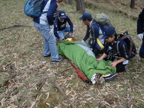 Mountain Rescue Training