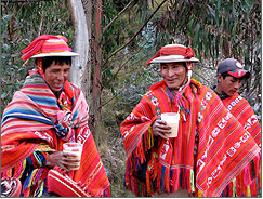 Come and celebrate New Year Andean style! Salud!
