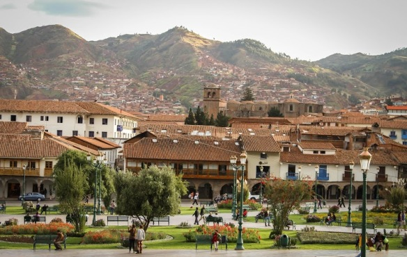 Megan Gaston: Cusco Plaza de Armas