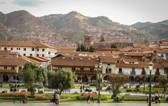 Megan Gaston: Cusco Plaza de Armas