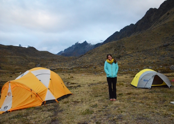 Camping at altitude - you need to be prepared!