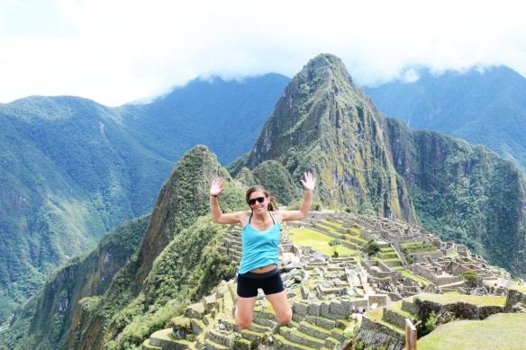 Made it!! Machu Picchu!!!
