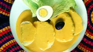 Delicious: boiled potatoes in a creamy, spicy sauce