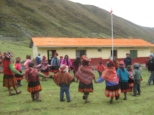 Games in the community of Chaullacocha