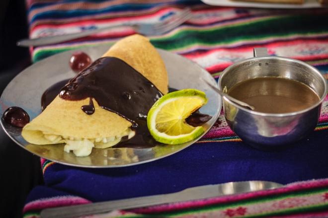 dessert Apus Peru