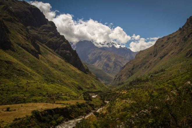 Thanks to Megan Gaston for this tantalising foto - 'Inca Trail - the start!'