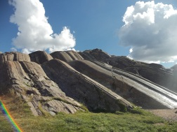 Natural slides Sacsayhuaman, foto Emily Doherty