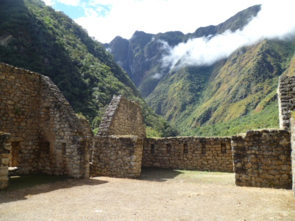 Chachabamba: Gatehouse to Machu Picchu