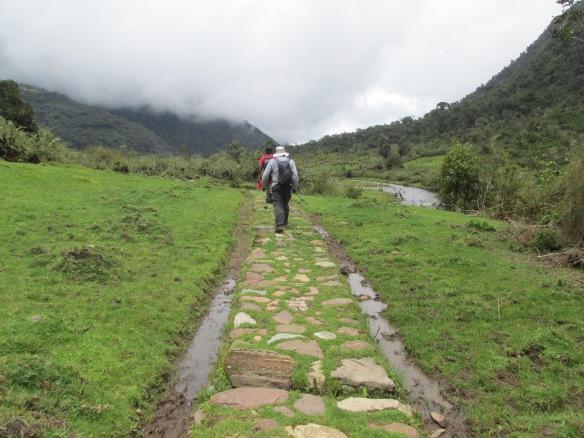 Photo 8- typical Inka trail