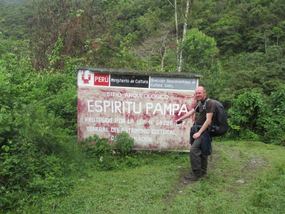 Photo 9 - Matt at Espritu Pampa